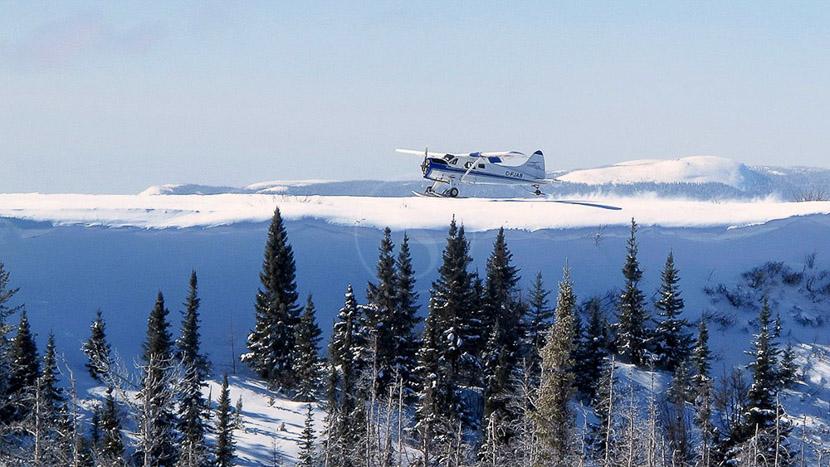 Survol panoramique en hydravion, Hydrobase, Canada