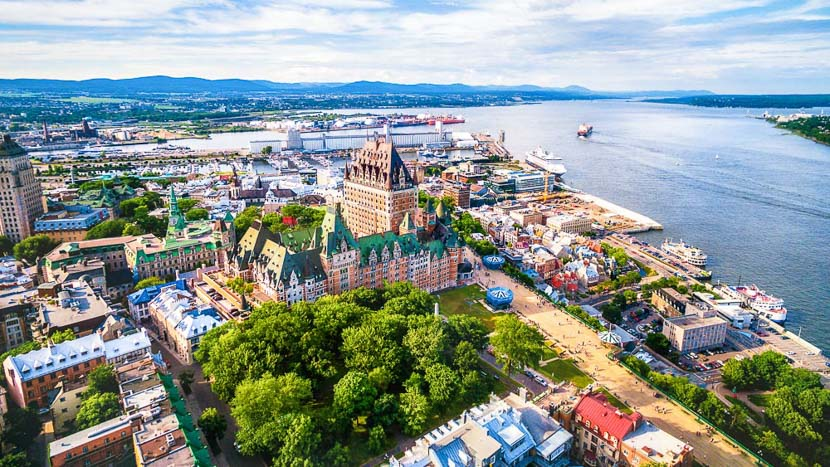 La ville de Québec, Ville de Montréal, Canada