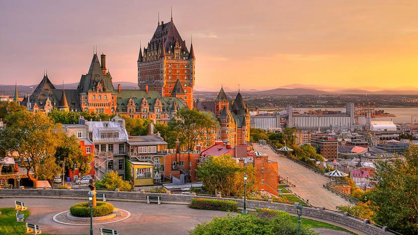La ville de Québec, Québec, Canada