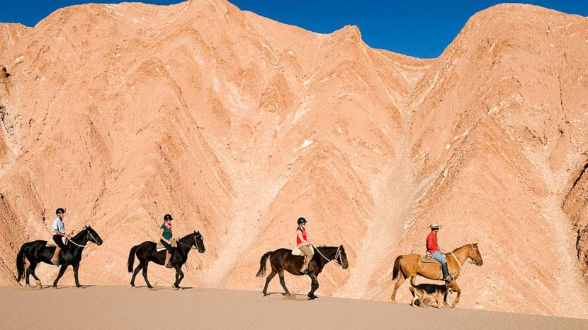 Randonnée à cheval dans l'Atacama, Randonnée à cheval dans l'Atacama, Chili © Tierra Atacama