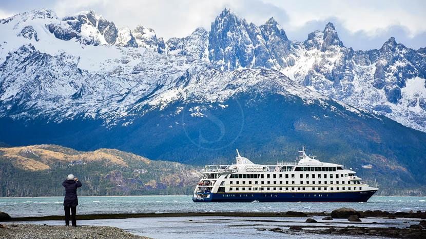 Croisière Australis de Punta Arenas vers Ushuaïa, Stella Australis en Terre de Feu © Cruceros Australis