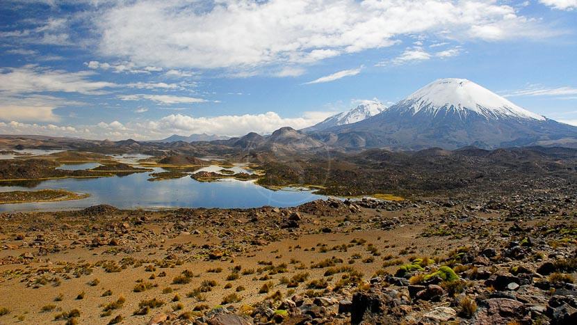 Réserve de biosphère Lauca, Désert de l'Atacama, Chili © Alain Pons