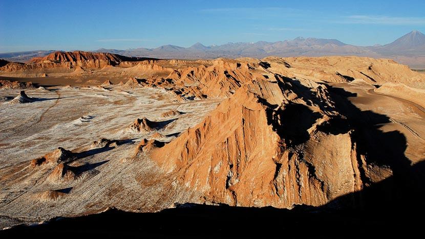 La Vallée de la lune, Désert de l'Atacama, Chili © Alain Pons