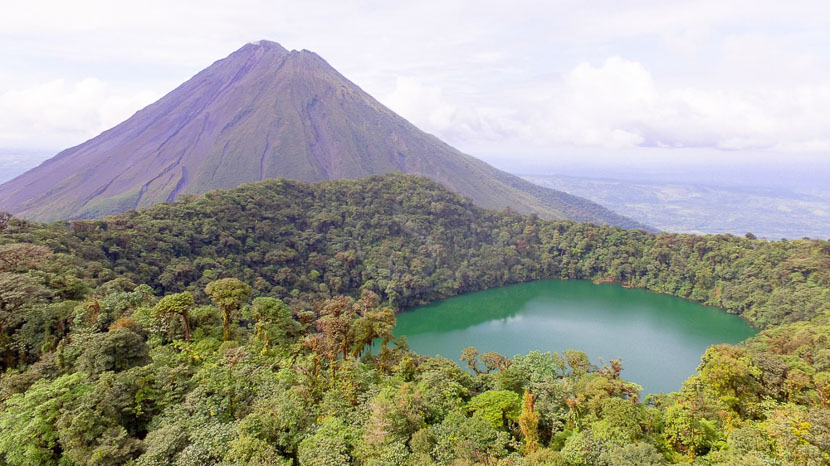 Ascension du Cerro Chato, Excursion au Cerro Chato, Arenal, Costa Rica