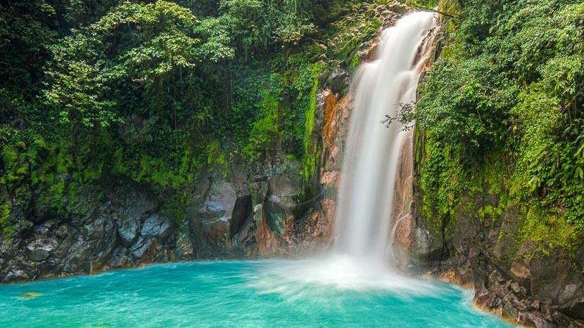 Costa Rica, le pays vert de la diversité, Rio Celeste, Costa Rica