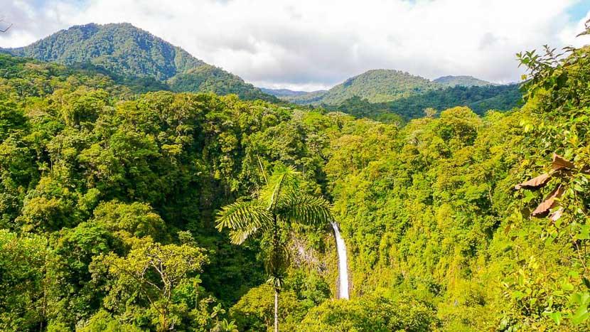 Costa Rica, le pays vert de la diversité, Chutes San Carlos à Arenal, Costa Rica