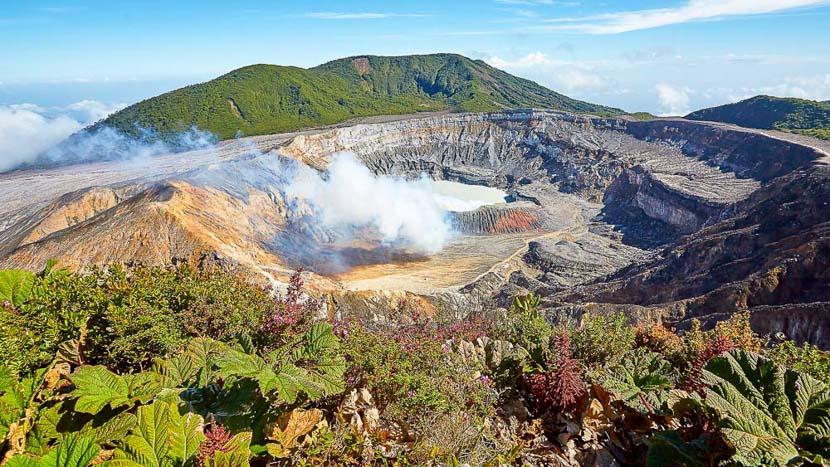 Costa Rica, le pays vert de la diversité, Volcan Poas, Costa Rica
