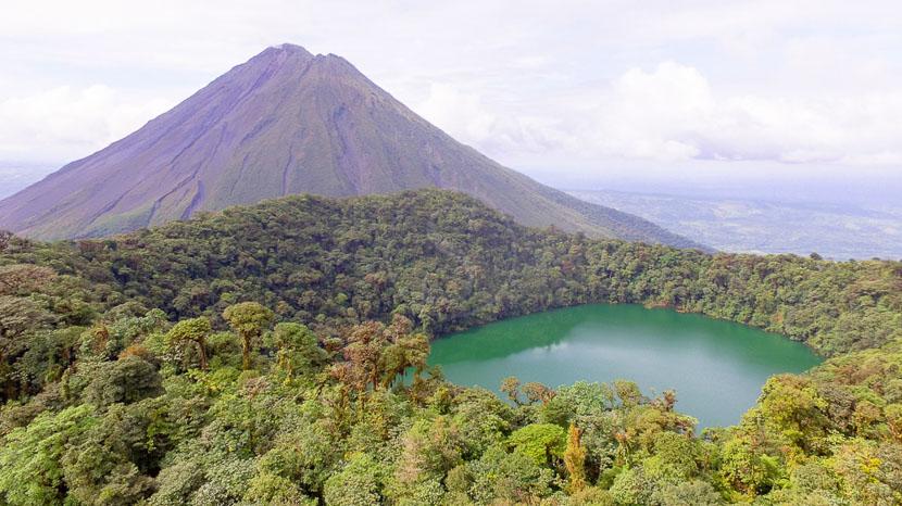 Costa Rica, le pays vert de la diversité, Excursion au Cerro Chato, Arenal, Costa Rica