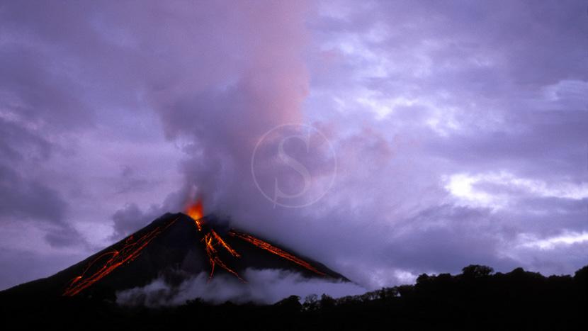 Costa Rica, le pays vert de la diversité, Volcan Arenal, Costa Rica