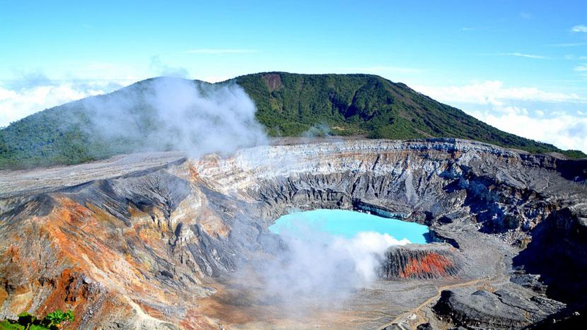 Volcan Poas, Volcan Poas, Costa Rica