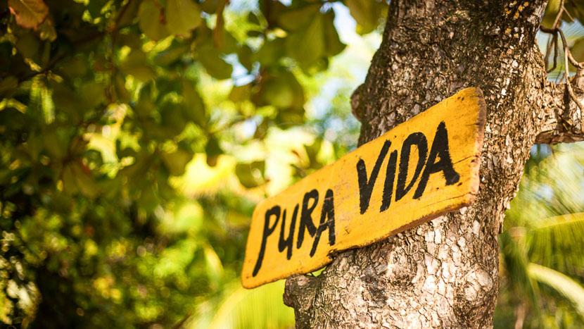 Pura Vida !, Pura Vida ! Costa Rica