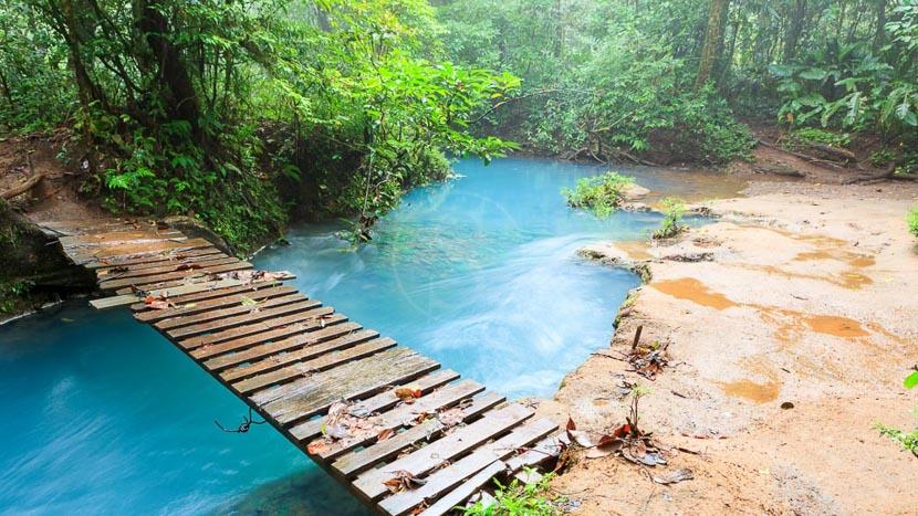 Randonnée au Rio Celeste et sur le Tenorio, Rio Celeste, Costa Rica