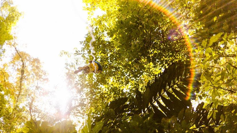 Accro-branche dans les hauteurs à Boquete, Canyoning experience à Pacuare, Costa Rica © Pacuare