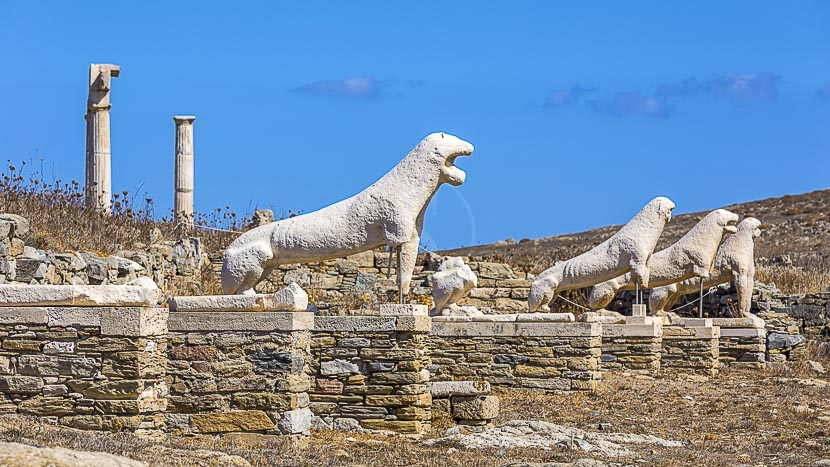 Croisière Ponant en Grèce, Ile de Delos, Grèce © Shutterstock