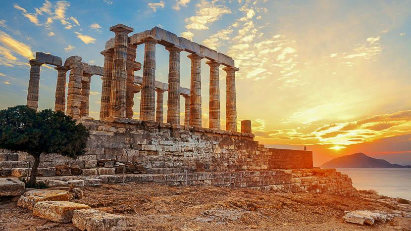 Croisière Ponant en Grèce, Temple de Poseidon, Grèce © Shutterstock