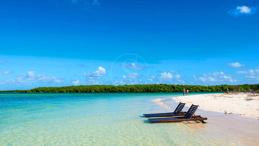 Une plage paradisiaque sur un Cayo, Hotel Playa Cayo Santa Maria, Cuba