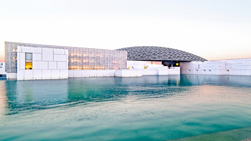 Louvre Abu Dabi, Louvre de Abou Dhabi, Emirats Arabes Unis