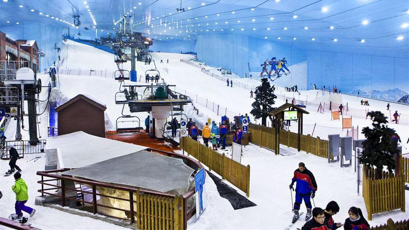 Ski Dubaï, Ski à Dubai, Emirats Arabes Unis