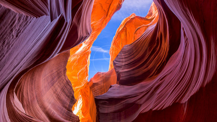 Antelope Canyon, Antelope Canyon, Etats-Unis © Shutterstock