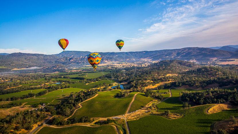 Découvrez les vignobles de la Napa Valley, Napa Valley, Etats-Unis © Shutterstock