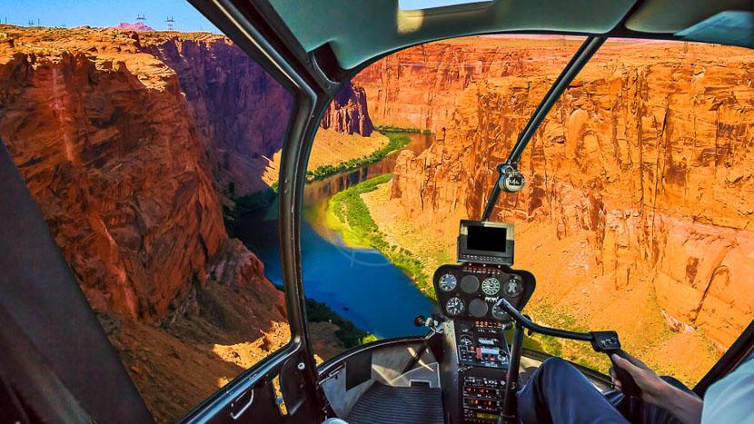 Survol du Grand Canyon en hélicoptère, Grand Canyon, Etats Unis © Shutterstock