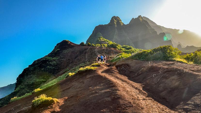 Le Parc National des volcans d'Hawaï, Kilauea Trail, Hawai © Shutterstock