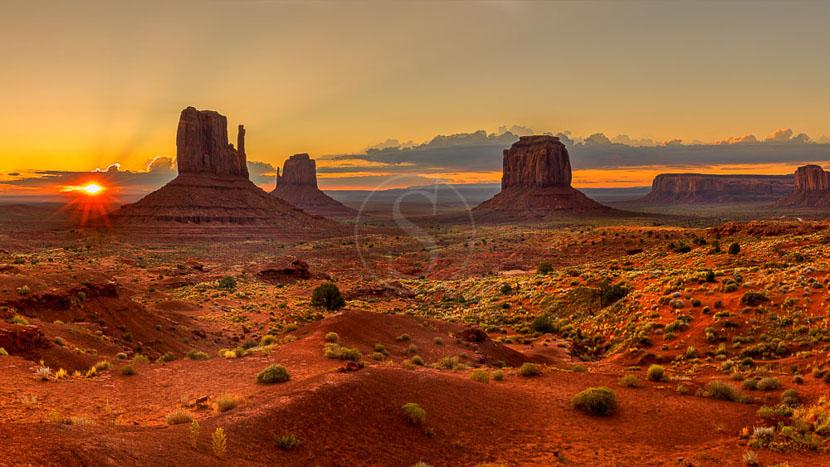 Randonnée guidée à Monument Valley, Monument Valley, Etats Unis © Shutterstock
