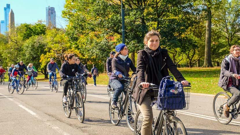 Visite guidée de Central Park à vélo, Central Park à vélo, New York, Etats-Unis © Tous droits réservés