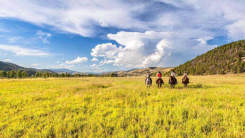 Activités à cheval au Ranch at Rock Creek, The Ranch at Rock Creek, Etats-Unis © Tous droits réservés