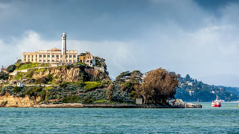 Excursion à Alcatraz, San Francisco, Etats-Unis © Shutterstock