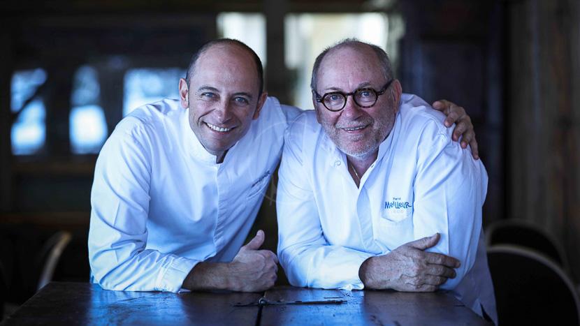 Dîner gastronomique à La Bouitte, Chefs René et Maxime Meilleur © La Bouitte