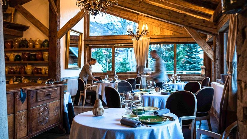 Dîner gastronomique à La Bouitte, La Bouitte Hôtel & Spa, France © La Bouitte