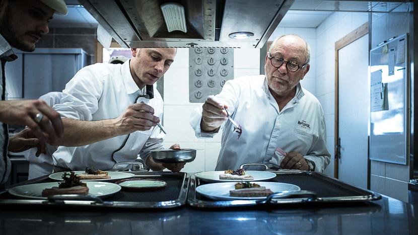 Matinée en cuisine avec la Brigade, La Bouitte Hôtel & Spa, France © La Bouitte