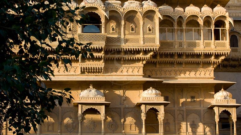 Forts et palais d'Inde, Jaisalmer, Inde © Alain Pons