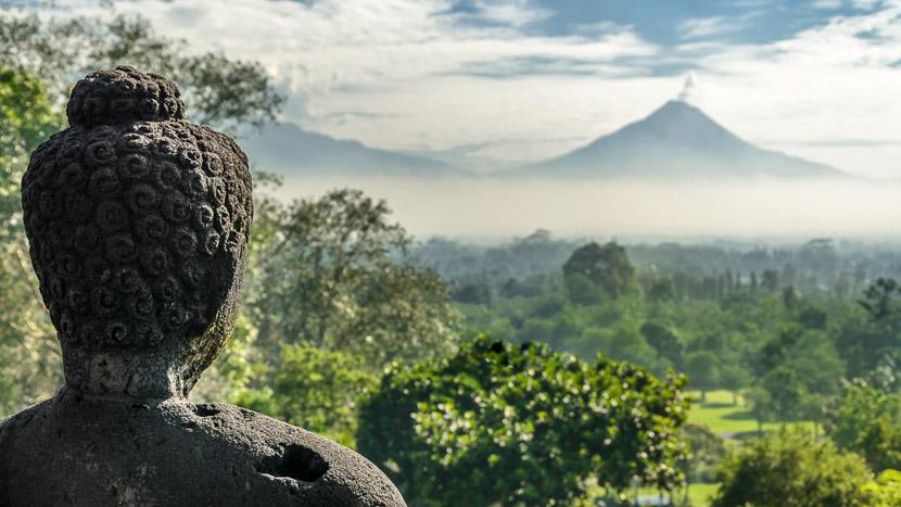 Borobudur, Temples de Borobudur, Indonésie © Shutterstock