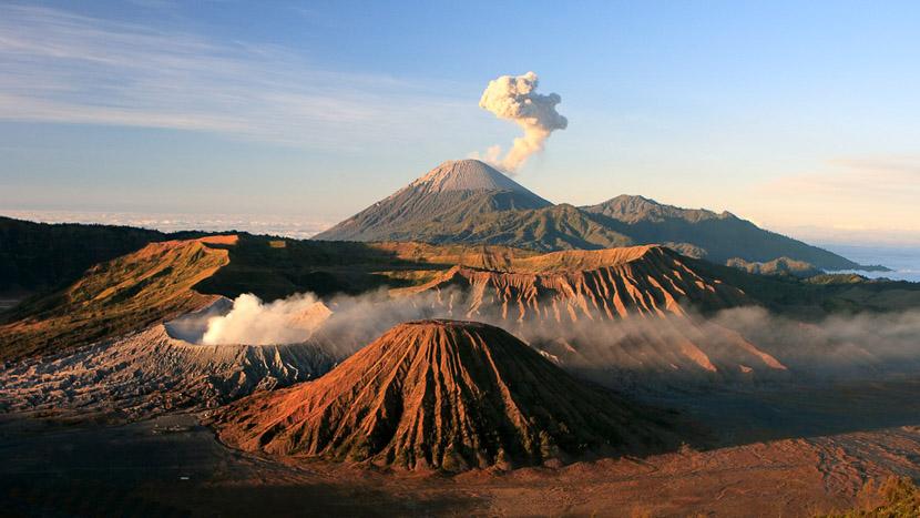 Les volcans de l'est de Java, Mont Bomo, Java, Indonésie