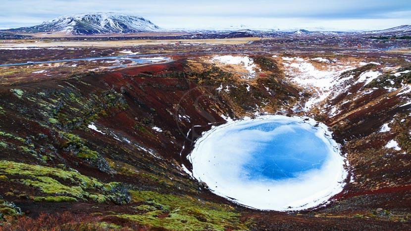 Le Secret Lagoon, Le Cercle d'or, Islande © Sstock