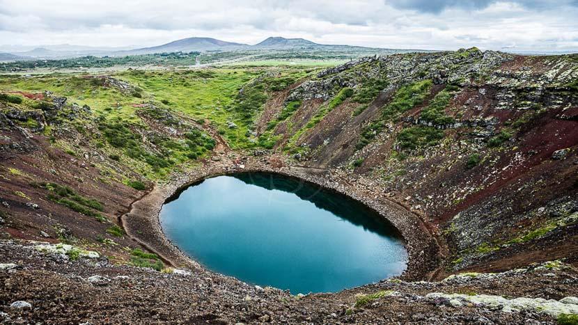 Entrée au Fontana Spa , Le Cercle d'or, Islande © Sstock