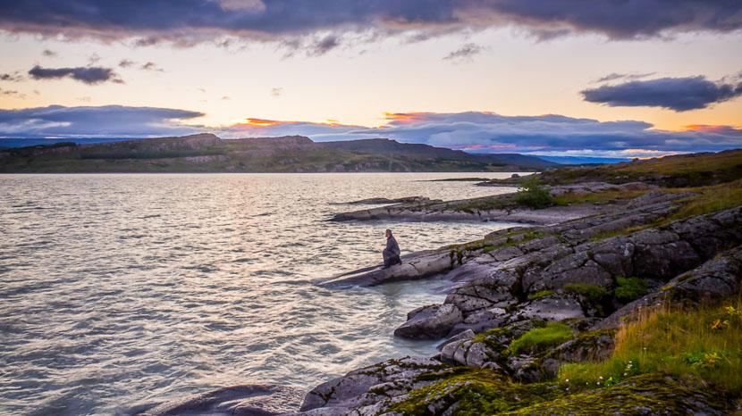 Les fjords de l'est, Lagarfljot, Islande © Sstock