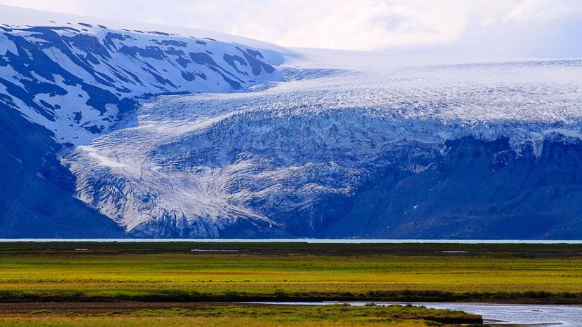 Randonnée glaciaire, Langjokull, Islande © Sstock
