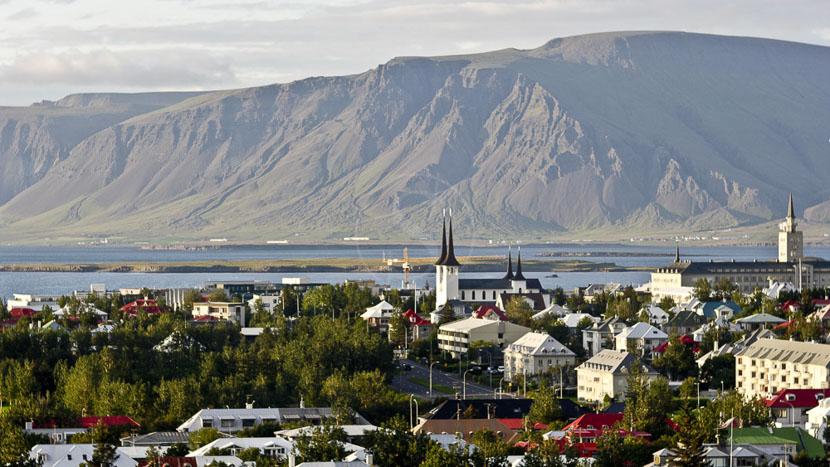 Reykjavik, Reykjavik, Islande © Sstock