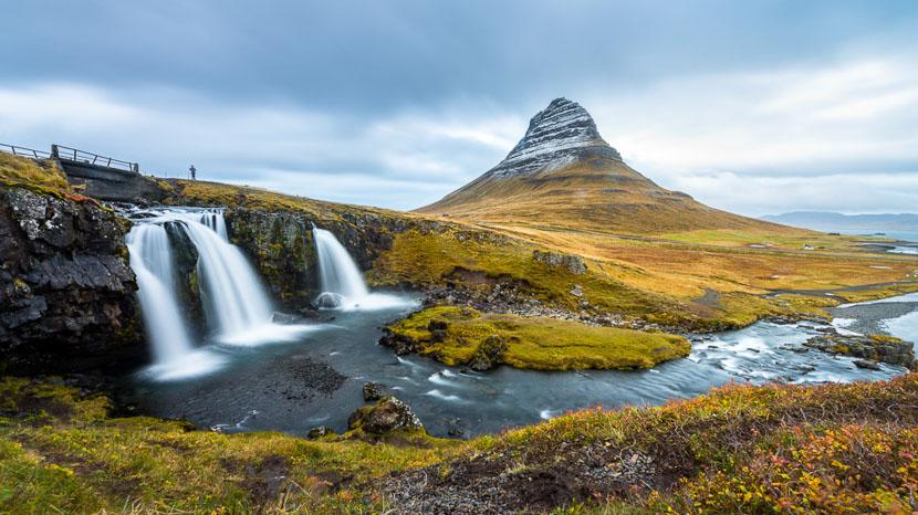 Croisière d'observation de la faune marine, Kirkjufellsfoss, Islande © Sstock