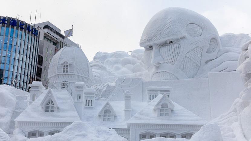 Le Festival de la Neige, Festival Neige Sapporo, Japon