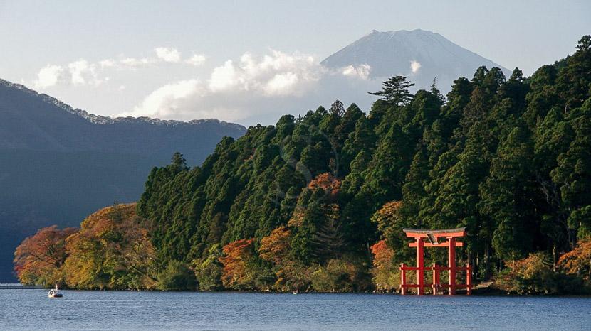 Hakone et Mont Fuji, Kanagawa, Lac Ashi et Mont Fuji, Japon © jnto