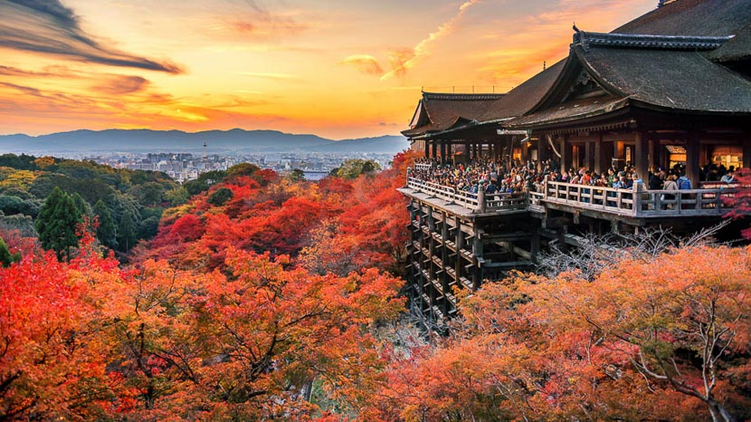 Kyoto, Kinkakuji Temple à Kyoto, Japon