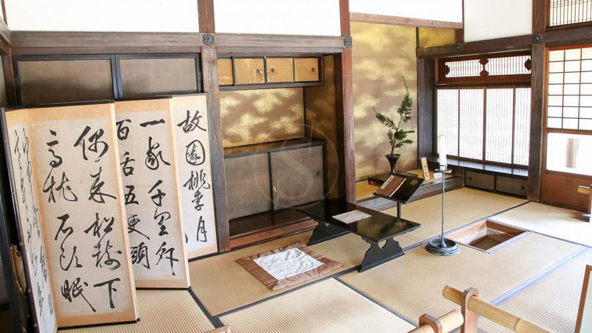 Nuit en ryokan, Ancienne résidence de Hosokawa Gyobu Kiyu-Tei à Kumamoto, Japon © jnto