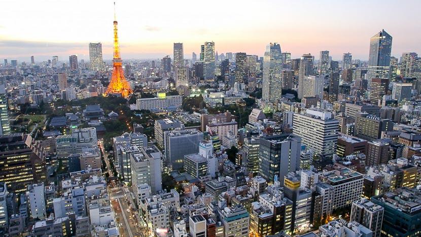 Tokyo, Vue générale de Tokyo, Japon © jnto