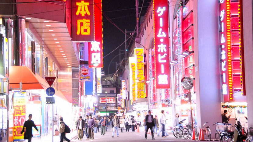 Tokyo, Ambiance nocturne à Tokyo, Japon © jnto