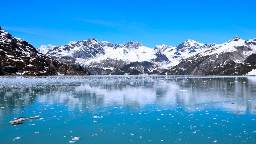 Croisière dans les îles Aléoutiennes, Glacier Bay National Park, Alaska © Shutterstock