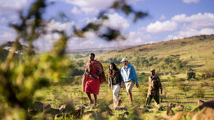 Nuit sous les étoiles, au Masai Mara, Kicheche Walking Safaris, Kenya